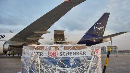 Nachhaltige Flüge zwischen Europa und Asien: DB Schenker und Lufthansa Cargo starten regelmäßige CO2-neutrale Frachtverbindung