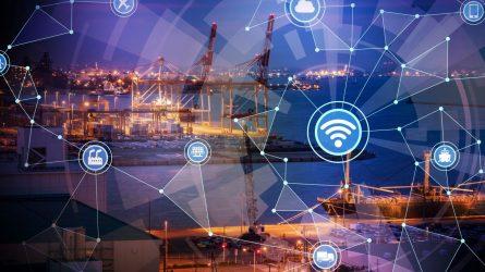 Internet of Things Digitalisierung der Logistik