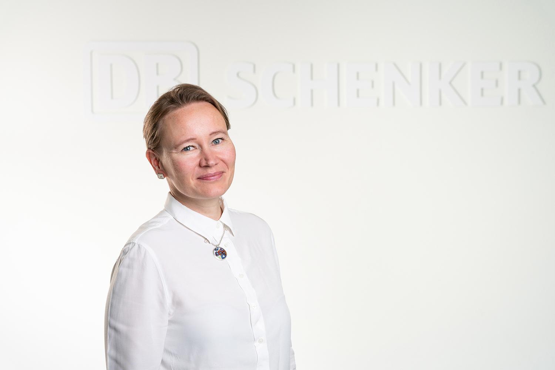 Reetta Tiittanen, Head of Ocean Freight Finland, DB Schenker